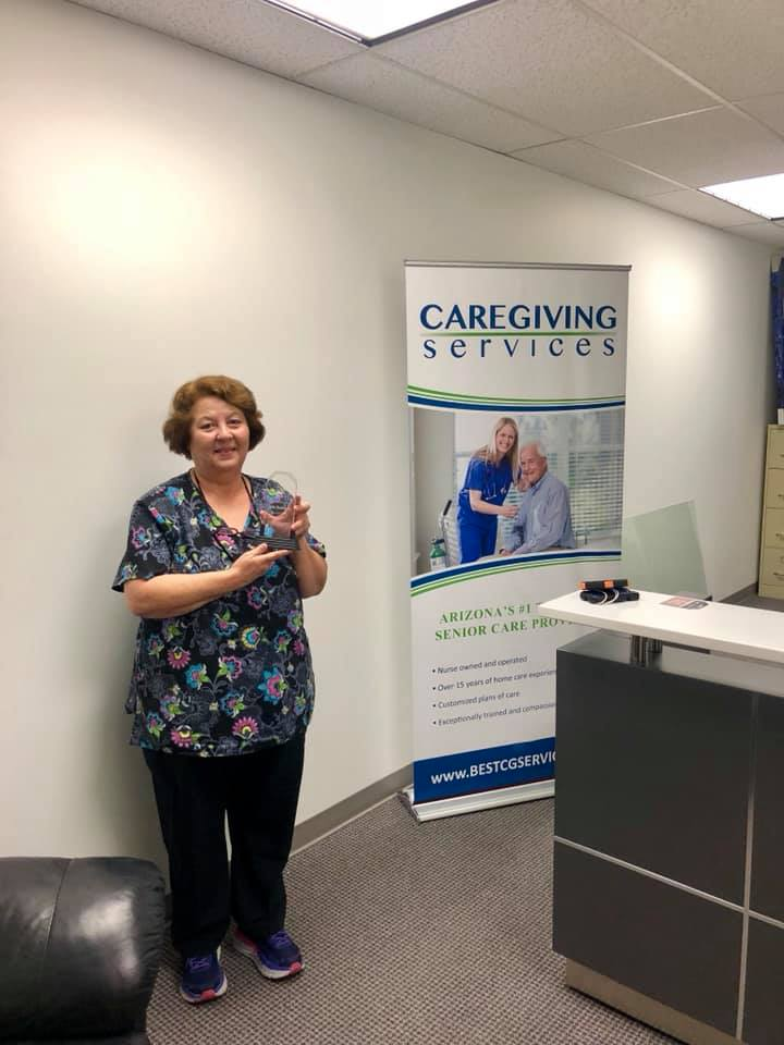 Julie R. Caregiver of the Month